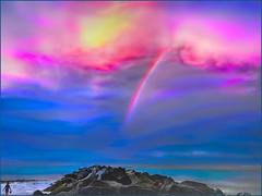 The Promise (tom_roche21) Tags: vilanobeachflusa rainbowsandbuckets thejettyvilanobeachfl flickrlove staugustineinletflusa jimmybuffett tides rainbowintheclouds god genesis