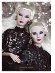 fashion royalty SISTER MOGULS | Agnes Von Weiss | Giselle Diefendorf (PruchanunR.) Tags: fashion royalty agnes von weiss giselle diefendorf sister moguls doll integrity toys