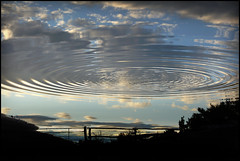 Fence with sky (na_photographs) Tags: reflections waves wellen water wasser reflektionen