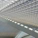 Liège-Guillemins (from Calatrava) (senn_b) Tags: graphic architecture liège belgique belgium belgien belgie luik liègeguillemins railwaystation pentax kx smcpentaxda1770mmf4alifsdm architectuur geometric geometry calatrava géométrie roof architektur