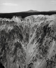 Grand Canyon of the Yellowstone (austin granger) Tags: grandcanyonoftheyellowstone yellowstone yellowstonenationalpark geology time erosion layers canyon earth film gf670