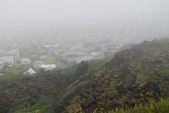 Foggy evening in Westmann (kmhowells2) Tags: iceland westmannislands vestmannaeyjar heimay