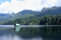 """204/365 Capilano Reservoir (ruthlesscrab) Tags: wah """"we'rehere"""" hereios """"366the2017edition"""" 3662017 """"day204365"""" 23jul17 float capilano reservoir """"northvancouver"""" bc canada"""