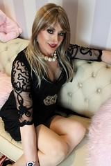 You've got a friend (Julie Bracken) Tags: cindy cd tgurl feminized xdresser mature old tv portrait hair red fashion transvestite mini skirt transgender m2f mtf transsisters enfemme ginger party tranny trannie heels nylon julieb85 crossdressing crossdresser tgirl feminised kinky pantyhose 2015