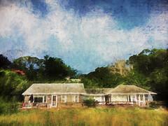 The Beach House (jackaloha2) Tags: beachhouse house beach marthasvineyard massachusetts text texture texturedlayers vacation