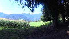 De la palombière à St Pé (alainlecroquant) Tags: coteauxdesaintpédebigorre saintpédebigorre coteaux abbatiale palombière randonnée hautespyrénées vaches lavoir ferme cheval vtt fleurs
