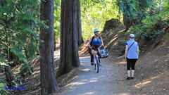 Ed Nixon Trail cyclist (Bill 1.75 Million views) Tags: langford langfordlake swimming playground children cycling bicycle ednixon goldstream westhills parkway leigh leighplace canon t3i d600 600d