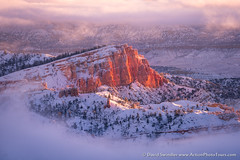 The Sinking Ship (David Swindler (ActionPhotoTours.com)) Tags: utah ship winter brycecanyon sinkingship fog cold light snow canyon
