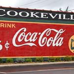 Restored Coca-Cola Mural - Cookeville, TN thumbnail