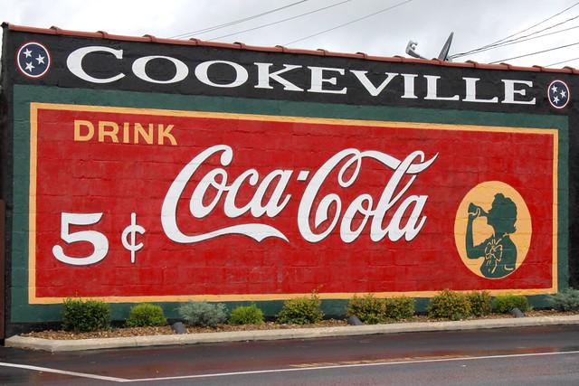 Restored Coca-Cola Mural - Cookeville, TN