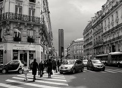 Paris - rue de Rennes (Maxofmars) Tags: europe europa ville city ciudad citta stadt rue street calle strasse strada via straat carrer paris parigi parijs capitale france francia frankreich frankrijk
