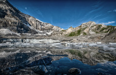 Reflections (Dani Maier) Tags: spiringen uri schweiz ch alpen klausenpass bergsee gletscher gletschersee berge