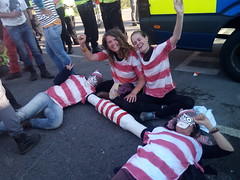 Where's Wally - Rolling Resistance (Reclaim the Power) Tags: fracking