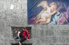 Allegories (Giulio Gigante) Tags: colors allegories austria eccoqua people salzburg salisburgo angels child kid residenz residence art museum arte museo mostra street