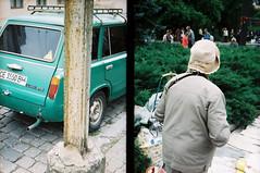 street. offside2017. chernivtsi. (Yaroslav F.) Tags: street analog photo 35mm half frame chernivtsi чернівці retro car lada yaroslav futymskyi centuria dnp kodak color 200