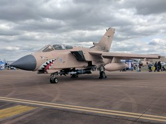 Photo of Panavia Tornado GR.4T ZG750 'Pinky'