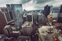 Vancouver BC - Exchange Tower (3) (doublevision_photography) Tags: vancouver vancouvercity vancouverrealestate vancouverbc vancouverskyline vancity vancouvercanada jasocrane constructioncrane vancouverconstruction roofing vancouverroofing contruction towercranephotography flyingtables tableflying