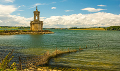 St Mathews Church(Normanton Church) ..Rutland Water (williamrandle) Tags: normantonchurch stmathews england 2017 summer rutland rurlandwater uk church religiousbuilding lake water reflection landscape sky clouds nikon d7100 beauty peaceful tamron2470f28vc building stone