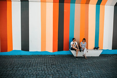 stripes (ewitsoe) Tags: street canon eos5ds 20mm sigma stripes peopel couple warm denmark copenhagen hot spring tour heritage urban city cityscape sunny dk europe