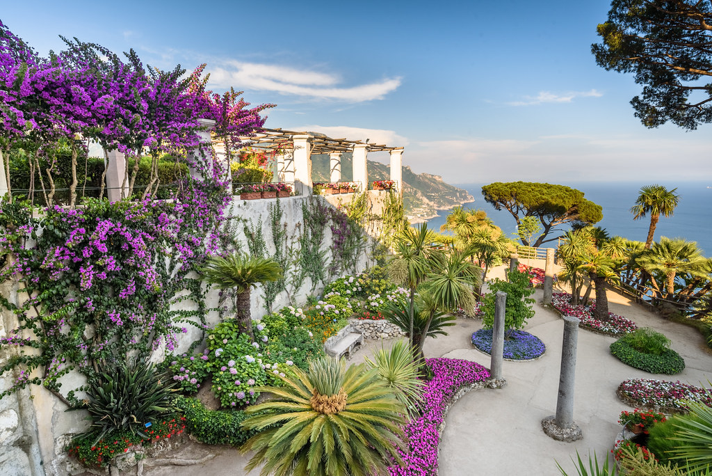 The world 39 s best photos of coast and ravello flickr hive for Jardin villa rufolo