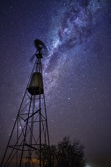 El molino (karinavera) Tags: travel sonya7r2 view longexposure night molino campo sky argentina buenosaires pampa cielo south field stars oneimage mills milkyway