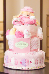 Eva's cake (Paul Istoan) Tags: diapercake diaper cake present baby shower tort pampers scutece