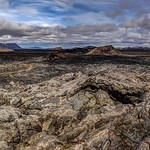 Krafla Lava Fields Panorama, North Iceland thumbnail