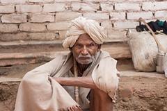Stare (nshrishikesh) Tags: portrait photography portraits faces india wrinkles photowalk incredibleindia vrindavan canon 50mm 600d