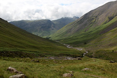 Lingmell beck (Cumberland Patriot) Tags: wasdale head gill lingmell beck stream water valley vale cumbria cumbrian view walk monks trod foot path footpath great gable yewbarrow fell mountain hill peak scree rock rocks rocky english lake district national park green verdant landscape