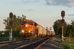 CSX V817 Lemoyne, OH (Nolan Majcher) Tags: csx csxt pemberville sub subdivision lemoyne oh ohio co chesapeake v817 bnsf 6541