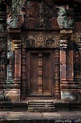 Temple Doors (penny-blog.com) Tags: temple door angkor cambodia travel urban ancient ruins historical site colors