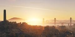 Sunrise (Sai Harshith) Tags: watchdogs 2 ubisoft san francisco sunrise