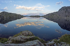 Reflection (Immagini di Montagna) Tags: lake blue mountains clouds rocks evening water olympus trentino italy montagna lago landscape crepuscolo paesaggio paysage summer mirrorless sky mirror sunset