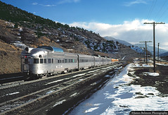 A Perfect Day on Soldier Summit (jamesbelmont) Tags: riogrande drgw train locomotive railroad emd f9a streamliner passenger utah gilluly