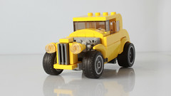 Lego Milner's Ford hot rod (hachiroku24) Tags: lego hot rod ford coupe american graffiti moc