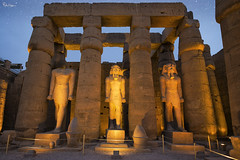 Inner Court of Rameses II (Karnevil) Tags: africa egypt luxor thebes luxortemple ramessesii upperegypt valleyofthekings thebanhills eastvalley westofthenile thebannecropolis royalnecropolis pharaohs worldheritagesite amunra egyptianhieroglyphics hieroglyphics ramesses nineteenthdynasty 19thdynasty ipetresyt thesouthernsanctuary d610 nikon petekreps