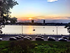 Sunset on the Hudson New York City (dannydalypix) Tags: boats gotham manhattan newjersey hudsonriver newyorkcity nyc sunset