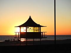 Setting sun at Glenelg (Lesley A Butler) Tags: adelaide australia autumn glenelg sa