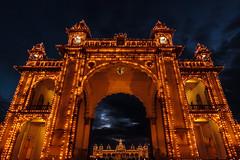 Mysore Maharaja Palace - Mysore, India (Kartik Kumar S) Tags: mysore palace mysorepalace karnataka india canon 600d tokina 1116mm lights electricity
