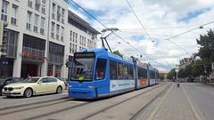 MVG 2209 | Max-Weber-Platz, Munich, 2017-07-15 (dolanansepur) Tags: tram transportation strasenbahn streetcar munich münchen mvg lightrail adtranz bombardier öpnv tramway trambahn