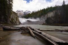 Wapta strenuous falls (Danzafra) Tags: america canada viajes falls wapta waptafalls canadianrockies britishcolumbia yoho nature fineart landscape