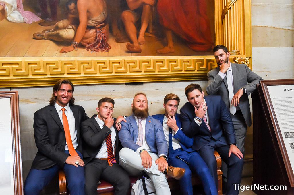 Clemson Photos: Adrien  Dunn, Ben  Boulware, 2017, Football, whitehouse