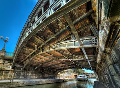 sous les ponts de Narbonne (cristgal56) Tags: aude ponts occitanie languedocroussillon hdr robine grandangle