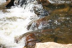 Merrily Splashing Along (eyriel) Tags: water macro splash movement creek brook stream nature rock rocks