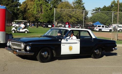 Tulare Ca Police 1962 Dodge Dart 330 Restored Replica 10 A