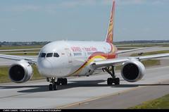 Hainan Airlines B788 B2739 ($and$man) Tags: cyyc yyc calgary airplane aircraft boeing 787 dreamliner taxi airport hainan airlines b2739 hna