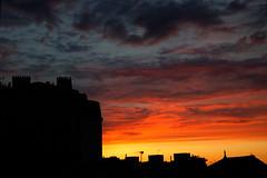 IMGL3558_DxO (baptisteflageul) Tags: couchedesoleil sunset soir evening soleil sun nuages clouds cloudporn ciel sky skyporn orange rouge red jaune yellow wow nature paysage landscape bleu bluehour blue paris france urbain urban