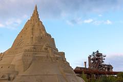 Sand und Stahl (LtFerrante) Tags: duisburg landschaftsparknord sandburg