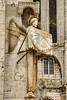 Chartres Angel Sundial (Jeff Parry Photography) Tags: arthistory astronomy cathedral chartres france frenchgothic gothic normandy architechture sculpture sundial