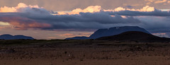 Midnight sun at Myvatn, Iceland (unvirtual) Tags: iceland island mountain 2017 holidays sunset myvatn urlaub